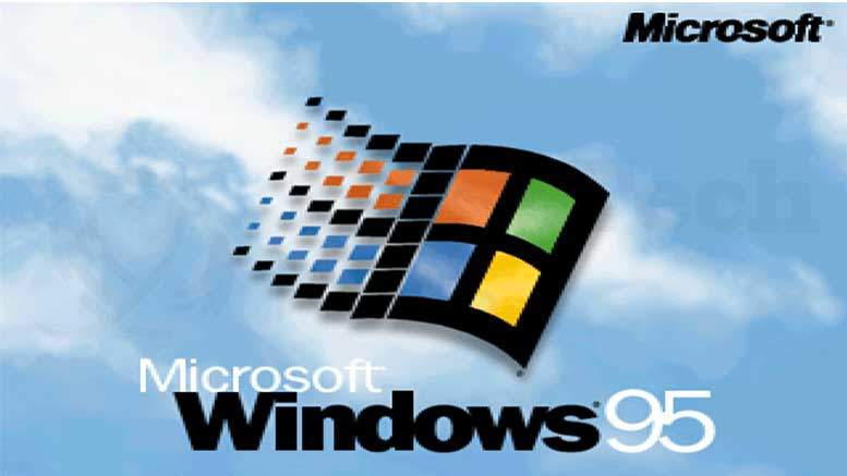 Happy Birthday Windows 95