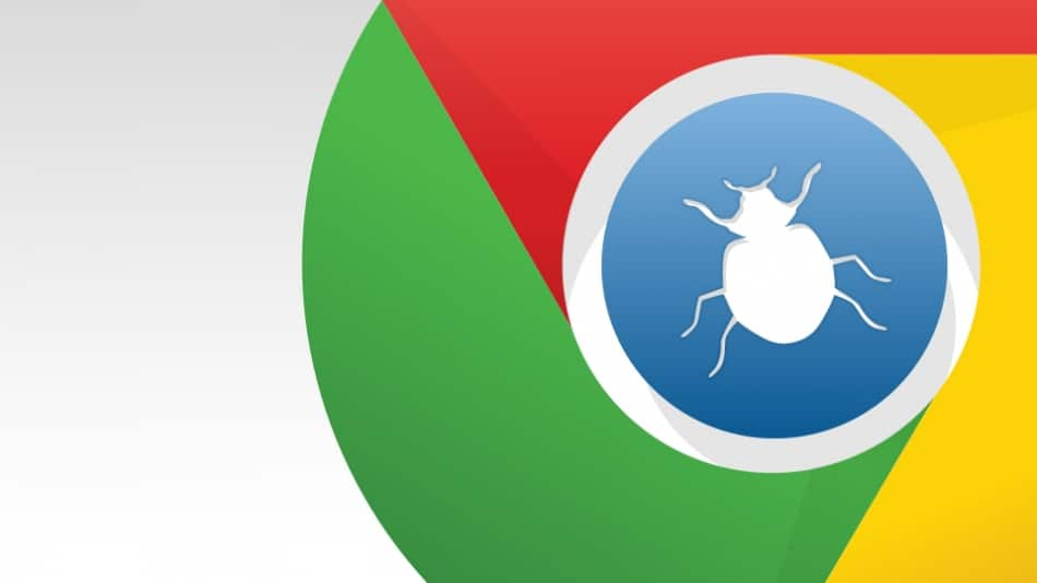 Harmless Chrome Bug