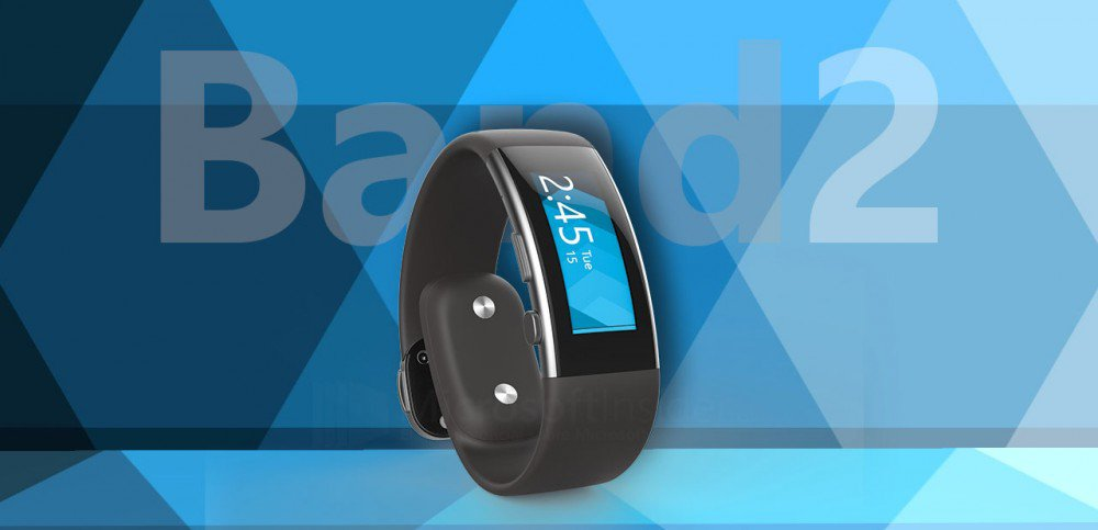 Microsoft Band 2 Might Have A Curved Screen