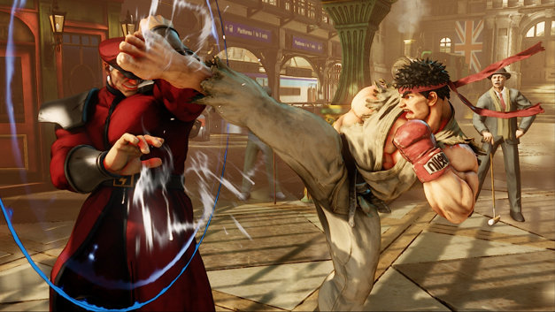 New Modes And Training Options in Street Fighter V
