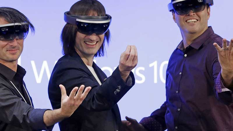 The First Shipment Of Hololens By Microsoft