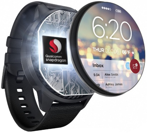 Qualcomm Snapdragon wear 1100 chip