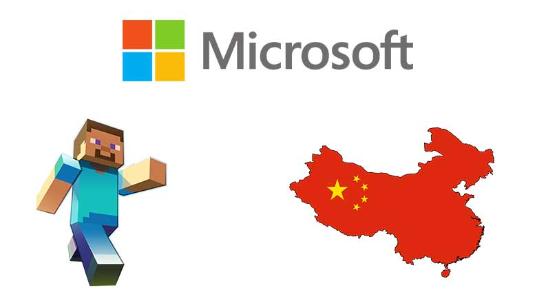 Microsoft's Minecraft Goes to China