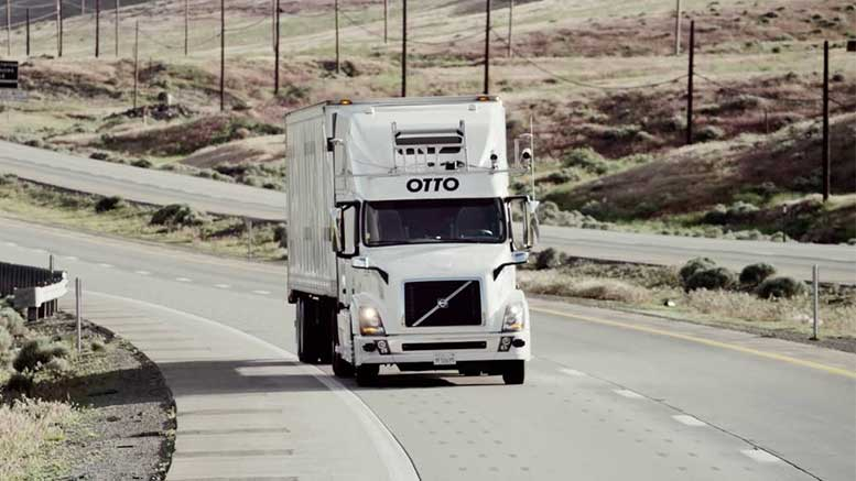 Self-Driving Trucks of Otto