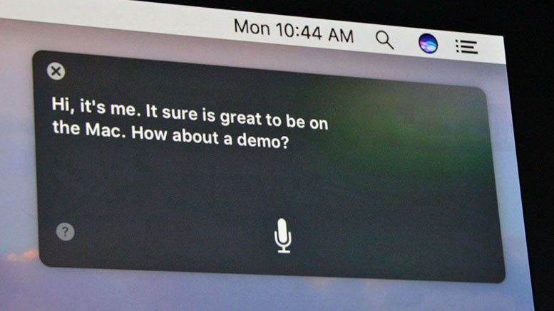 Apple Brings in Siri to Mac Through Sierra!