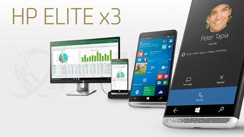 HP Elite X3 Phablet to Arrive The Market Soon in August