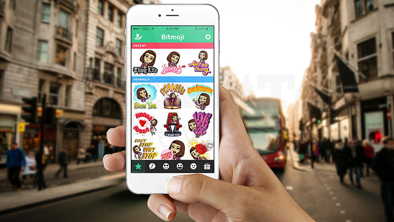 Snapchat Adds Bitmoji to Let You Personalize Emojis
