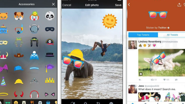 Twitter's Stickers Go Live