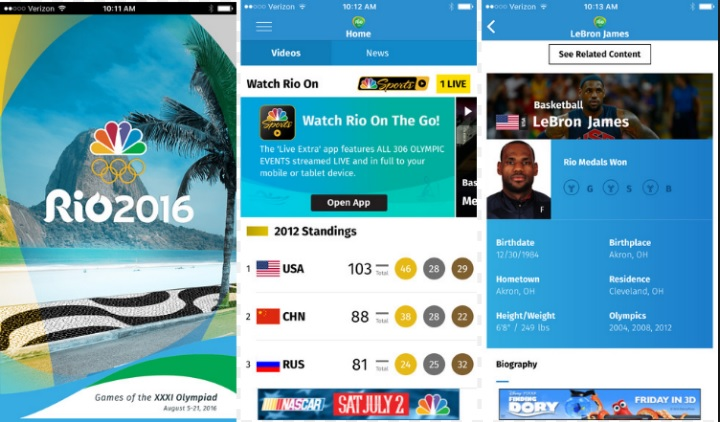 5 Android and iOS Apps to Update You With Rio Summer Olympic Games