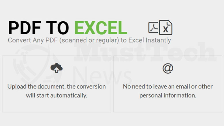 A Revolutionary Tool for Pdf to Excel Conversion