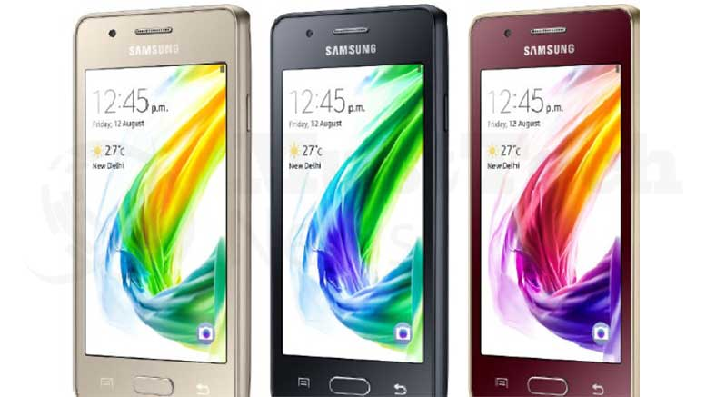 Samsung Tizen Z2 Smartphone Is Introduced In India