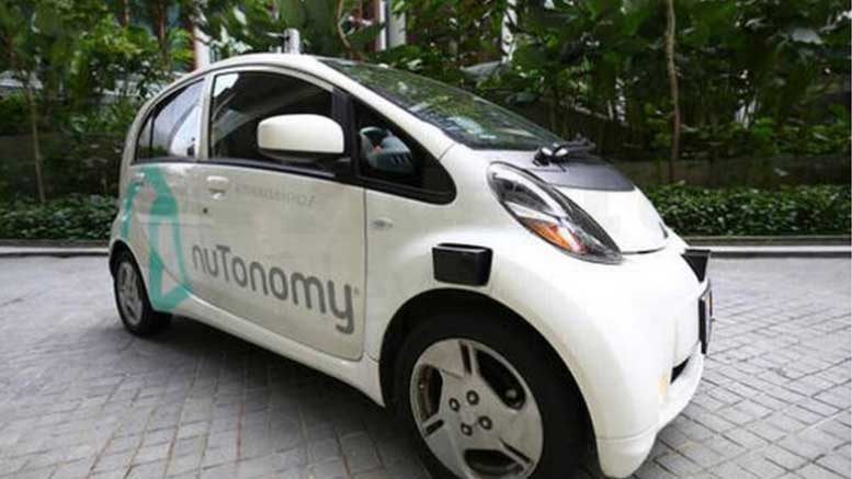 Singapore nuTonomy Introduces The World's First Self Driving Taxis