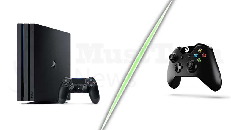 Comparison of PS4 Pro and XBox Scorpio
