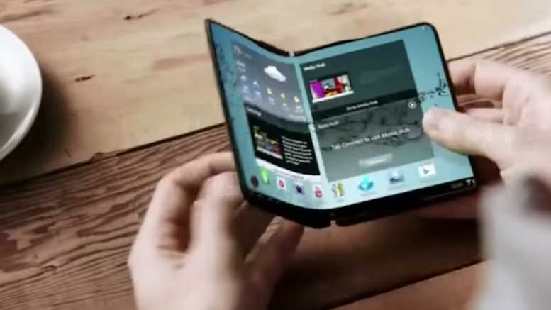 Folding Phones is the New Trend by Samsung