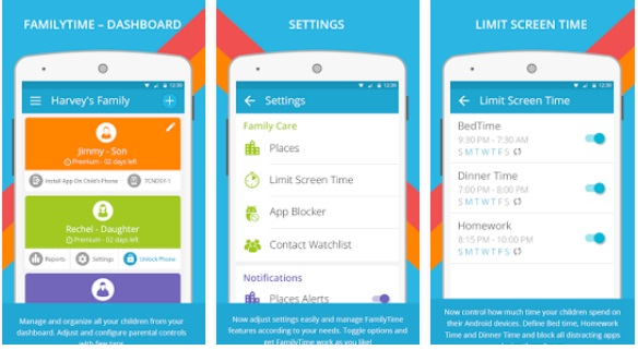 FamilyTime – Android Parental Control