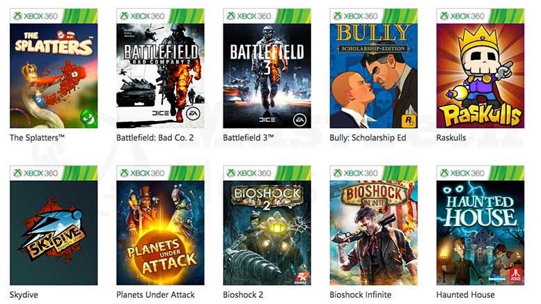 New Xbox 360 Games added for Backwards Compatibility With ...