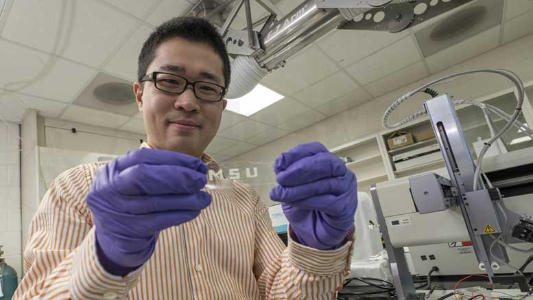 Researchers expect modern technology could one day bring in stretchable smart tablets