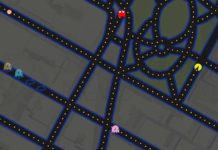 Google Celebrates April Fools' Day by Turning Google Maps into Ms. Pac-Man Game