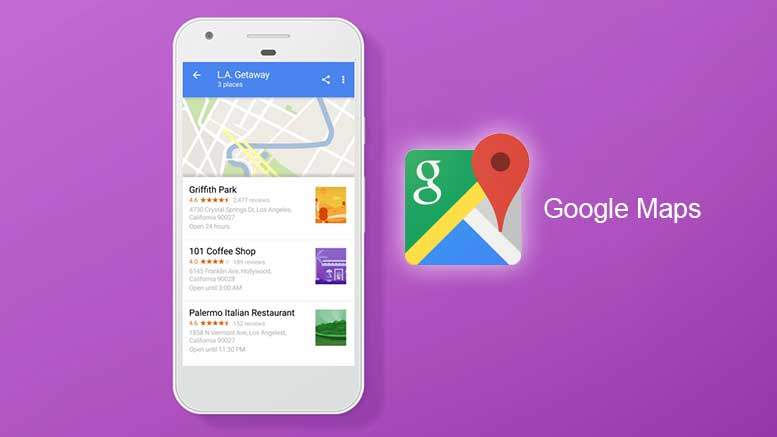 Make Lists of Places on Google Maps