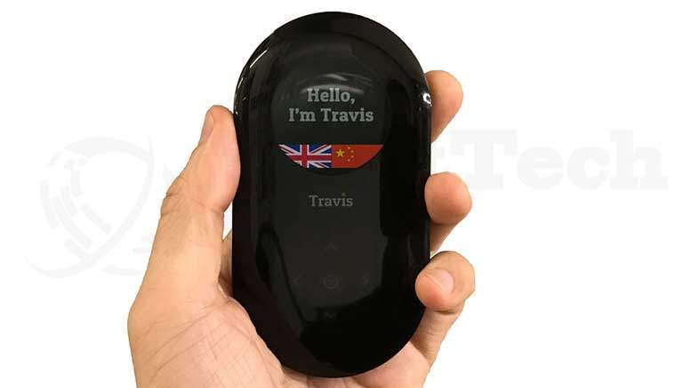 Travis, the handheld translator that works with over 80 languages