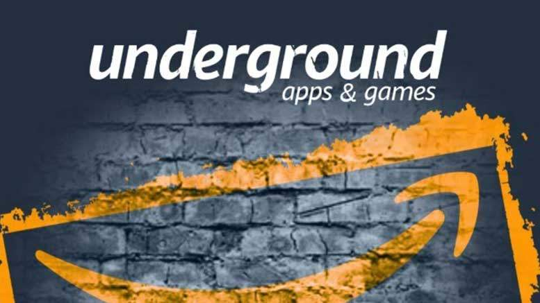 Amazon to shut down its free Android app program, Underground