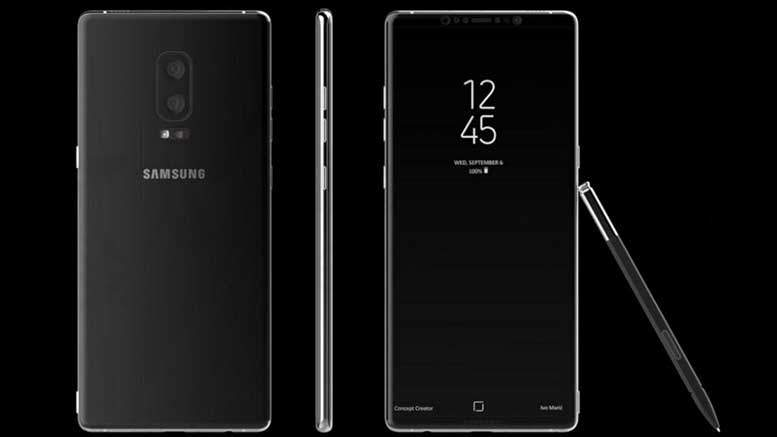 Samsung Galaxy Note 8 To Feature Dual Camera