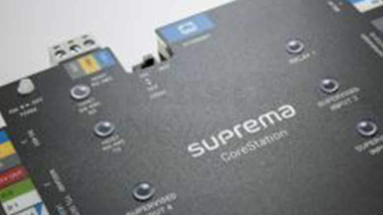 Suprema to Unveil Biometrics-based Intelligent Access Controller at IFSEC 2017