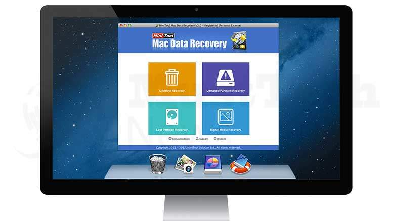 MiniTool Mac Data Recovery 3.0 - Effective Tool For Restoring All Your Files
