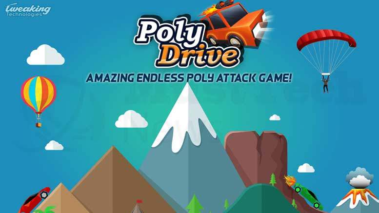Poly Drive - An Endless Adventure For Game Lovers