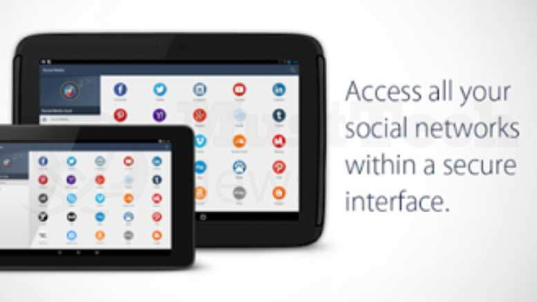 Social Media Vault - Multiple Social Media Accounts Protected under a Single Interface