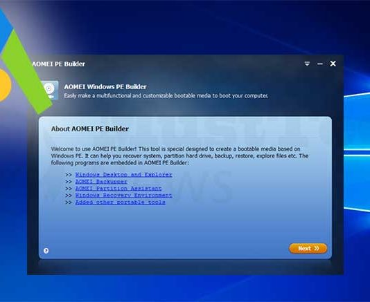 If You Need Bootable Media, AOMEI PE Builder 2.0 is Here for You!