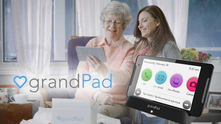 Riding Together: grandPad, the Tablet Designed Specifically for Seniors