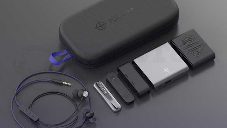 POLATAP - Premium Bluetooth Audio + Battery Kit for Travelers