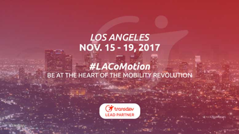 "Transdev at LA CoMotion ""Street of the Future"" Mobility Exhibition"