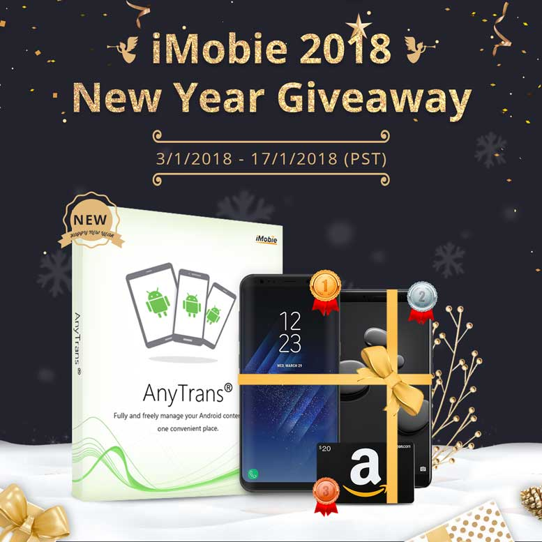 Money-spinning New Year Giveaway From iMobie Inc.