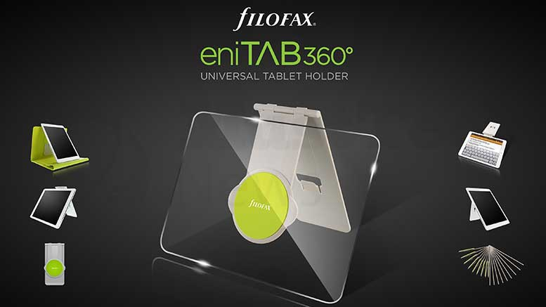 Meet The World's Most Versatile Tech Accessory, Filofax eniTAB360