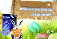 Easter Giveaway for BDmate: 1000 free copies Every Day