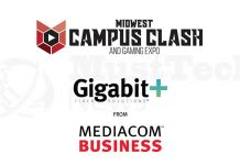 Mediacom Business Powers 2018 Columbia College Midwest Campus Clash and Gaming Expo