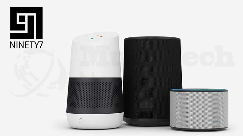 Ninety7 Expands Smart Accessory Line-Up With SKY – A Powerful Portable Battery Base for Amazon Echo 2