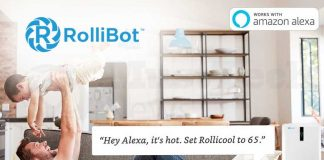 RolliBot Introduces Alexa Enabled Smart Air Conditioners