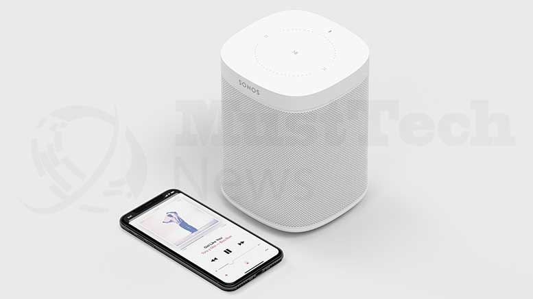 AirPlay 2 is now available on new Sonos speakers
