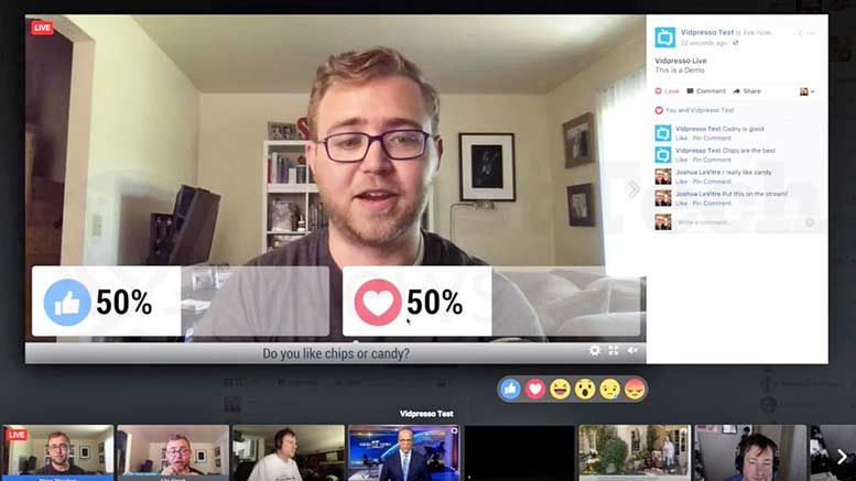 Facebook Acquires Vidpresso's Technology and Team to Make their Videos Interactive
