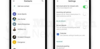 Google Voice Is Redesigned With New Contact Tab And Do Not Disturb Feature