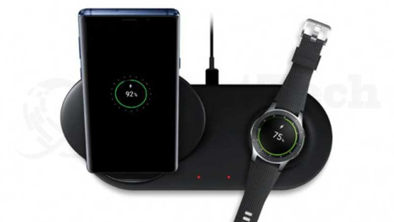 Samsung Reveals Their New Wireless Charging Duo Designed With A Propped Up Charging Pad