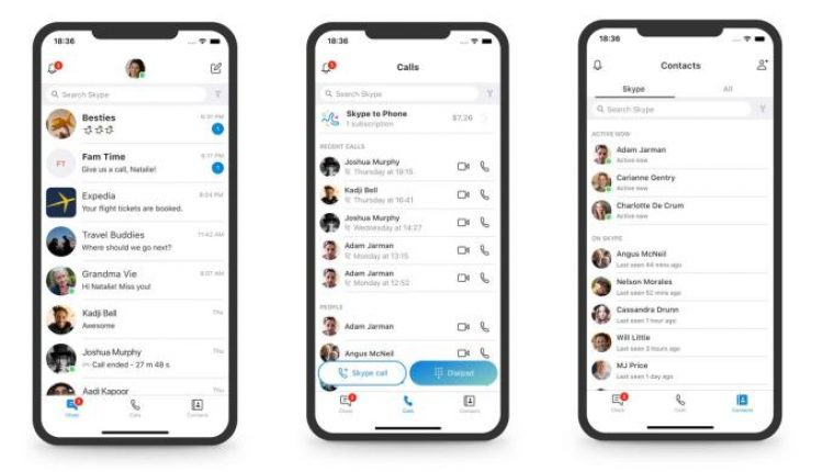 Skype Is Redesigned Once Again, The Highlight Feature Is Ditched